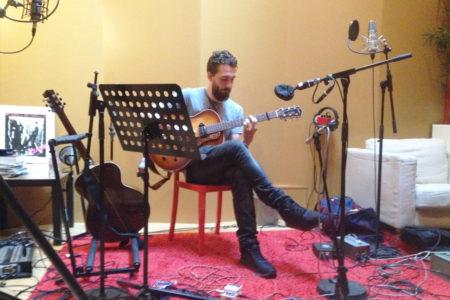 Red Room звукозаписно студио - сесия 08.2015 Париж, Will Knox, Fab Dupont,