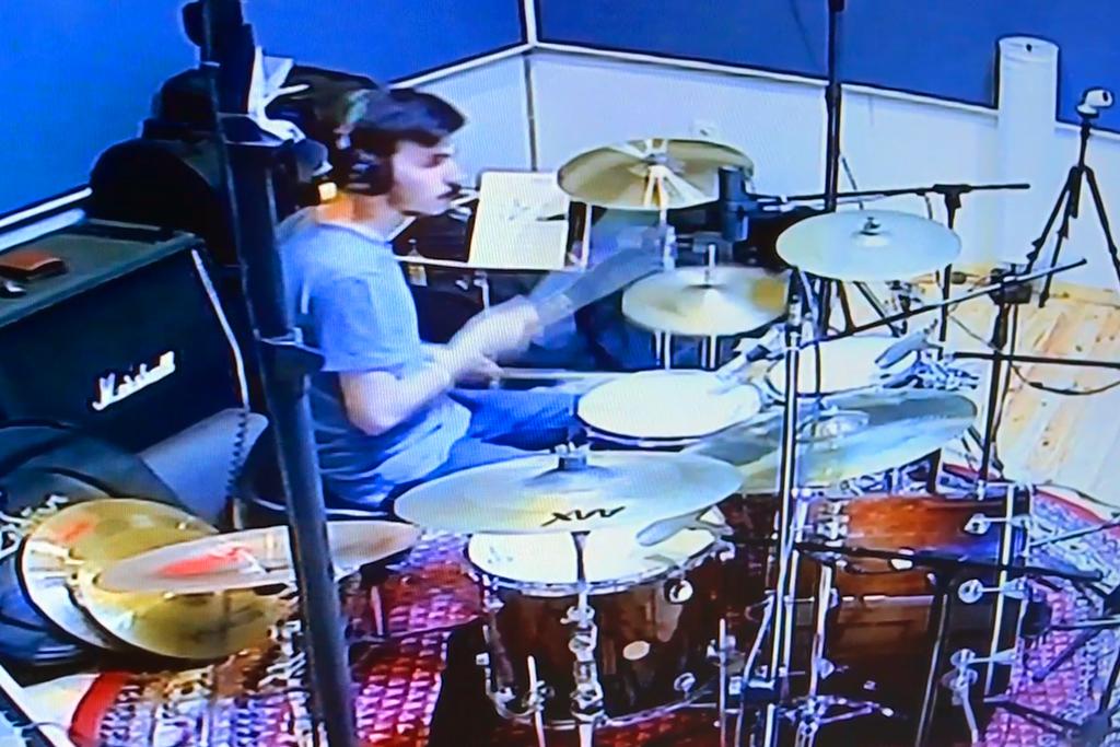 снимка от сесия в RENEWSOUND звукозаписно студио – Last4Seconds