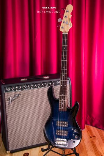 G&L L2000 4 strings active, bass, бас