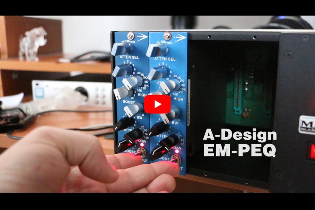 A-Design EM-PEQ, RENEWSOUND studio productions, аудио звукозаписно студио в София