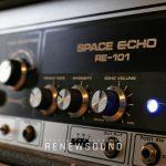 RENEWSOUND audio recording studio in Sofia, Bulgaria - Guitar effects - Boss, Ibanez, Roland Space Echo RE-101, MXR, Electo-Harmonix