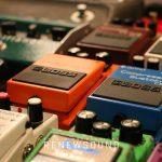 RENEWSOUND audio recording studio in Sofia, Bulgaria - Guitar effects - Boss, Ibanez, Roland, MXR, Electo-Harmonix
