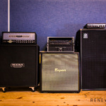 RENEWSOUND audio recording studio in Sofia, Bulgaria - Guitar amp - MESA, Ampeg, Triaxis, Engl, Bogner, 4x12